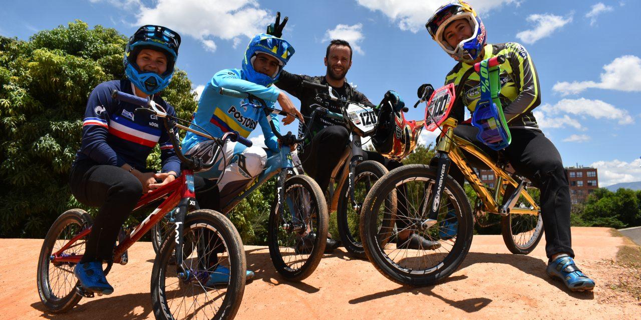Videos: Seis antioqueños a la conquista de la IV Parada de la Copa UCI Supercross