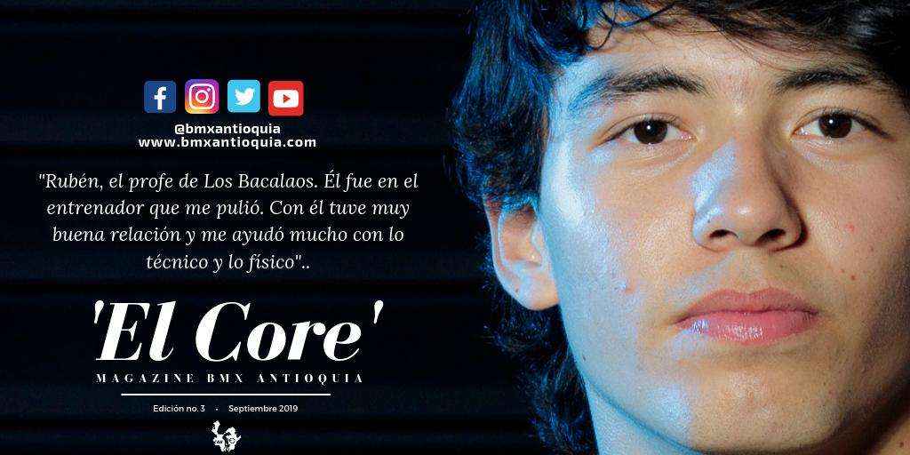 «Solo me visualizo en este deporte»: Mateo Carmona