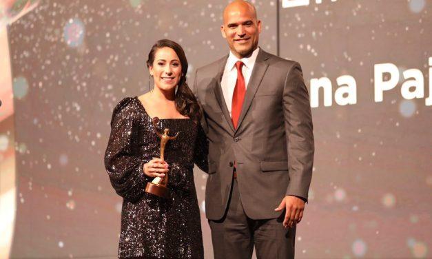 Mariana Pajón fue premiada como la mejor en los ANOC Awards en Doha, Qatar