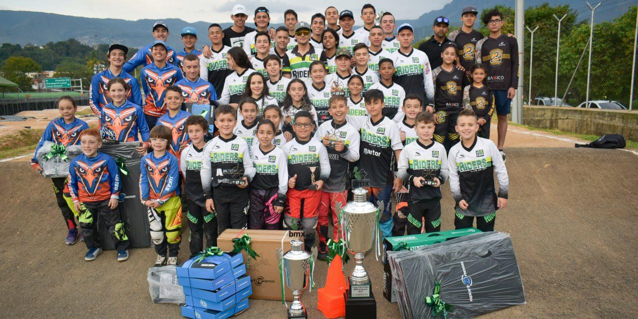BMX Riders, Águilas BMX y Scorpions Bikes, los más destacado de las Copa Interclubes