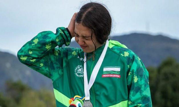 Juegos Nacionales: Manuela no aguantó más y lloró