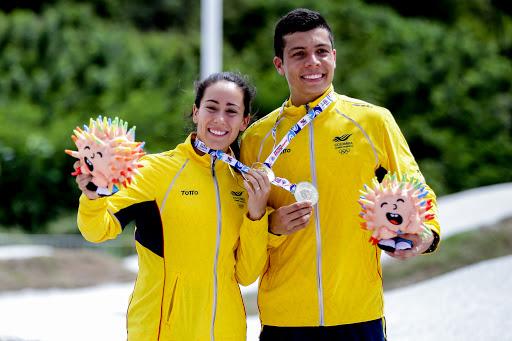 A 150 días de Tokio, Mariana Pajón y Diego Arboleda hablaron del ciclo olímpico y de la Copa Mundo en Colombia